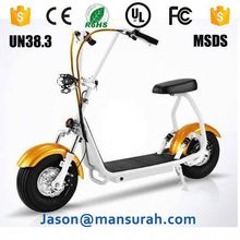 Pleasedin Interesting 2016 newest citycoco 2 wheeler 1200W-1500W electric scooter for adults