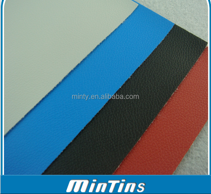 high quality pvc artificial leather for car seat vehicle chair with abrasion resistance