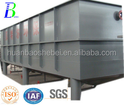 inclined plate tube sedimentation tank
