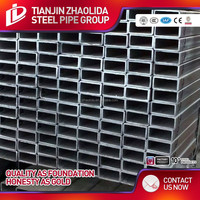 Astm a500 Gr.B Galvanized Rectangular/Square Hollow Section Tube/Carbon Steel Pipe