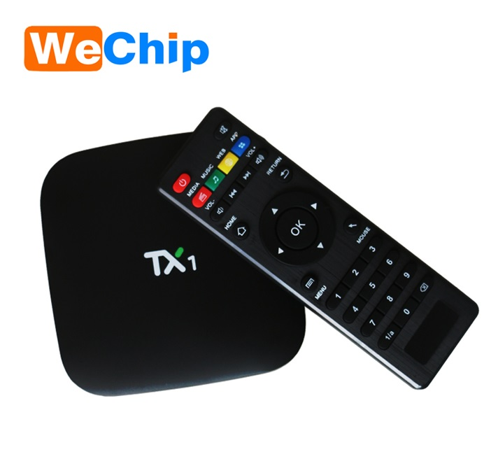 Joinwe Cheapest Amlogic S805 Tx1 4k Player Tv Box 1g 8g Kodi 16.0 Android 4.4 Remote Control Box