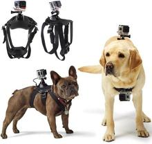 Action Camera Accessories Dog Fetch Harness Chest Strap Shoulder Belt Mount For GoPro Hero4 3 2 SJ4000 WIFI Sport Camera