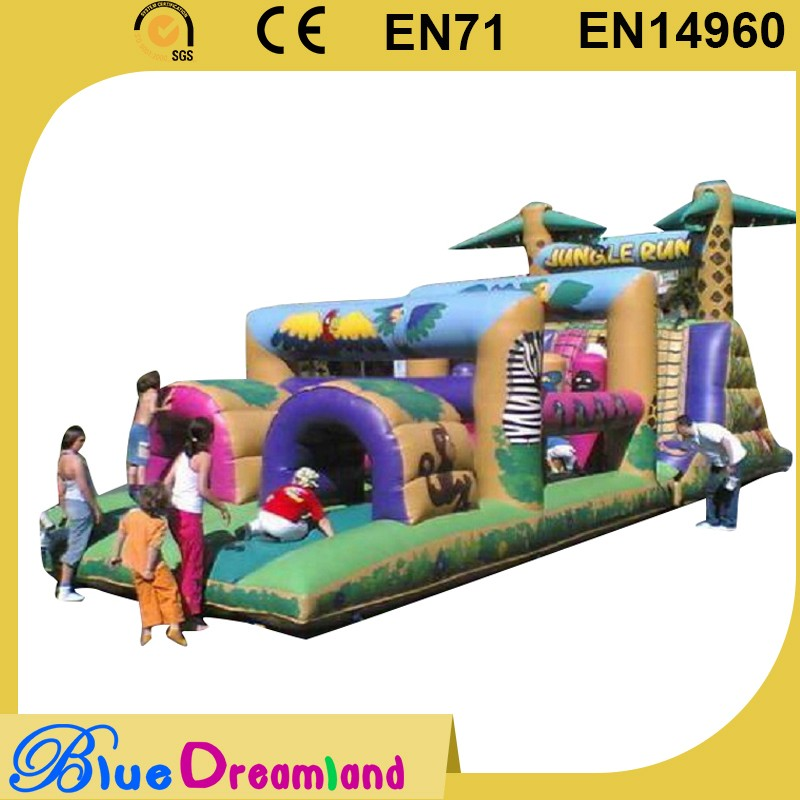 Customized inflatable tunnel game for kids on sale