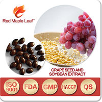 500mg OEM Natural Soybean Grape Seed Oil Extract Pills