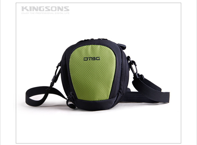 Colorful shoulder waist dslr camera case bag