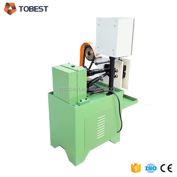 Pipe thread rolling machine thee rollers thread rolling machine TB-9GY