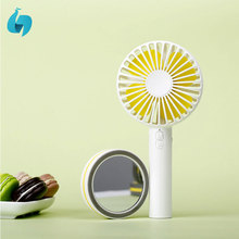 2018 colorful choice mini portable battery mini rechargeable standing fan