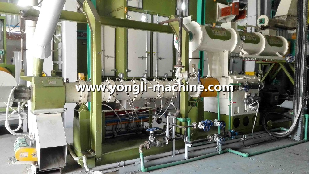 Turn key project Good price supply the CE certified fish/shrimp feed extruder machine