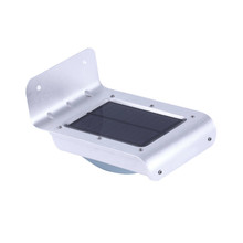 16 LED Solar Light Outdoor Waterproof Garden Lamp with Motion Sensor for Patio Pathway Lighting