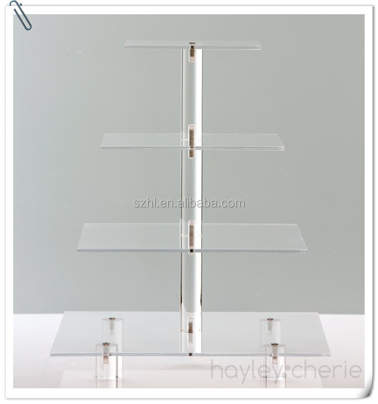 2016 new design all size acrylic wedding cakes stands, wholesale cake stands/ceramic cake stand