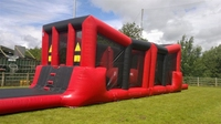 Good quality wipeout inflatable obstacle course