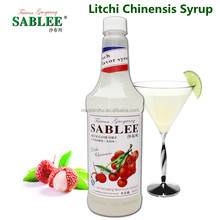 SABLEE litchi chinensis syrup 900ml sweet taste and beverage product type syrup