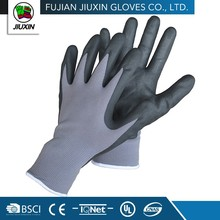 A High Level Safety Nitrile Coating Knitted Craft Mechanical Glove