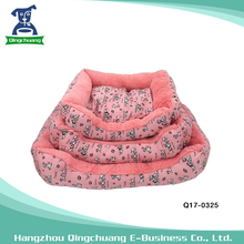 Dog printed not easy to deformation cute dog bed pet supplies