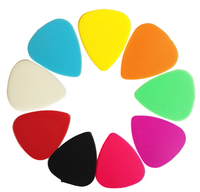 guitar sheet plectrums