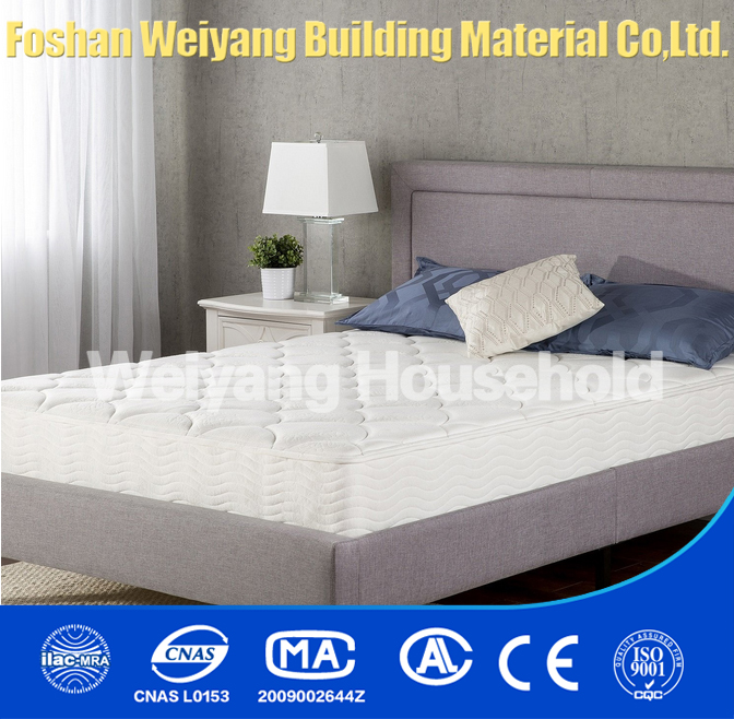 2016 new design king size comfortable pocket spring mattress