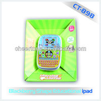 16bit TFT 2.7inch colored screen learing tablet toys cartoon french speaking toys