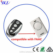 Control remoto rolling code control remoto compatible 433.92 MHz FAAC