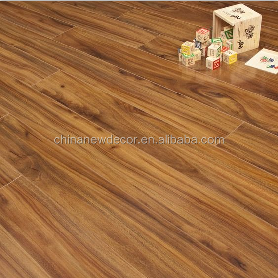 ac3 class 31 middle embossed 12mm parquet laminated wooden flooring/piso laminado