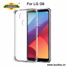 Pudding Soft Silicon TPU Back Cover Case for LG G6