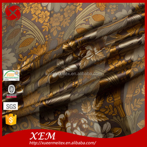 High-end produce with good quality watercolour printing silk fabric