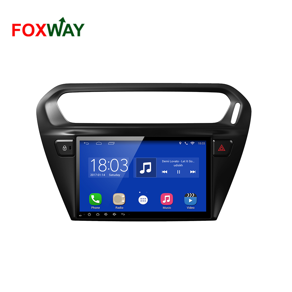 Android car dvd gps for Peugeot 301 with GPS OBD DTV