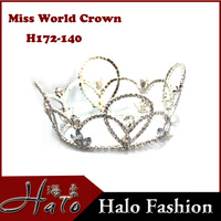 2015 Wholesale Custom Pageant Holiday Crown H172-140