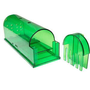 Non Poison Catch Bait Hamster Mouse Trap ABS Plastic Smart Mouse Live Traps Rat Trap Small Animal Live Cage