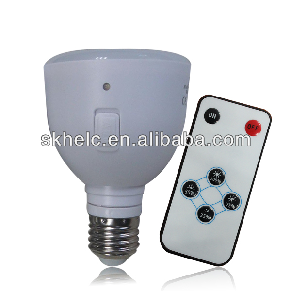 Portable home light 5W, rechargeable emergency, with remote control