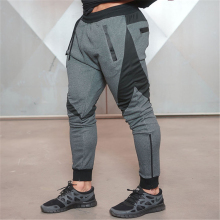 Wholesale custom mens fitness cargo joggers fitted jogger pants tapered joggers sweatpants