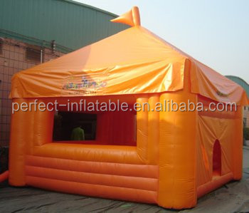 New design and hot sale inflatable cabin tent, inflatable cube tent