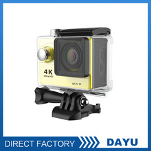 Silver / Gray Color And Microsd / TF Memory Card Type Mini Hd Extreme Sports Camera 1080P Sample Free