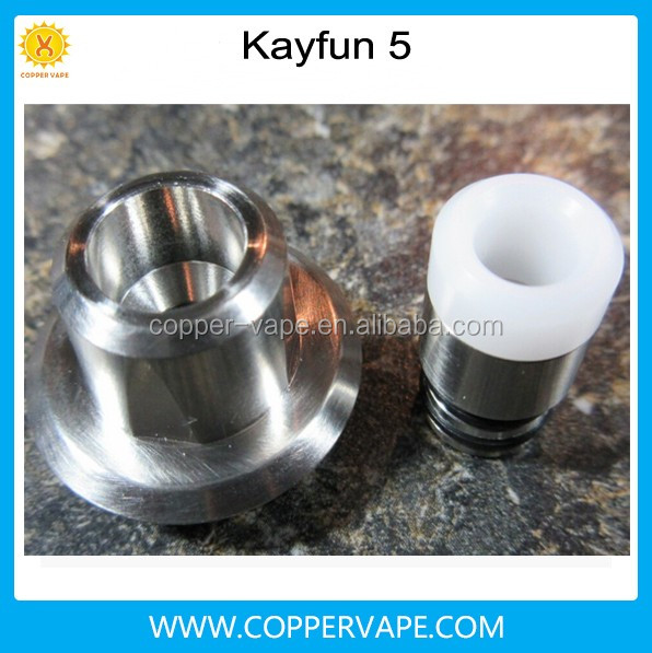 Coppervape kayfun 5 clone in stock !! stainless steel 316 Top filling kayfun v5 clone Quartz glass