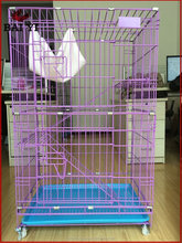 Cheap Pet Cat Cages With Wheels and Ladders