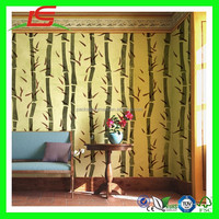 N707 Lovely Embossed Wallpaper With A Pattern Of Bamboo