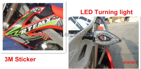 PT250-K5 Front Inverted Shcok Absorber High Quality Cheap Price Racing Dirt Bike
