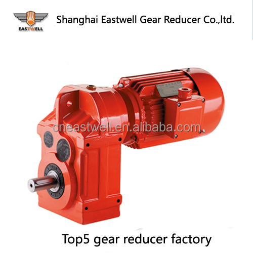 F67 SEW type gear reducer 5HP motor EWF parallel shaft helical gear reducer F77 SEW type gear reducer