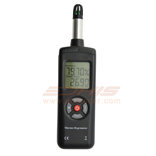 Digital Thermometer Auto Power Off Meter Measuring Relative Humidity