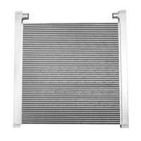 Aluminum plate fin cooling air water cooler