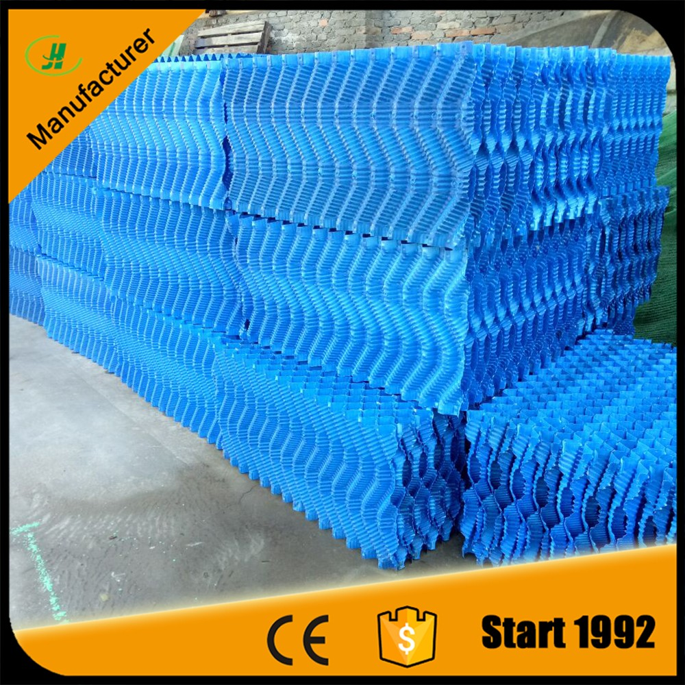 305mm 610mm cooling tower pvc filler media