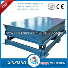 Hot electric shaking table concrete vibration equipment for cement