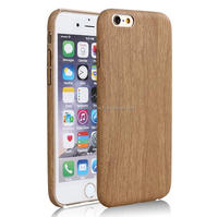 New Retro Vintage Wood Bamboo Pattern Soft Leather PU Cases for iPhone6s/ 6s plus Luxury Slim Back Cover Mobile Phone Protector
