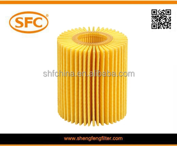 Oil filter element for TOYOTA 04152-31080