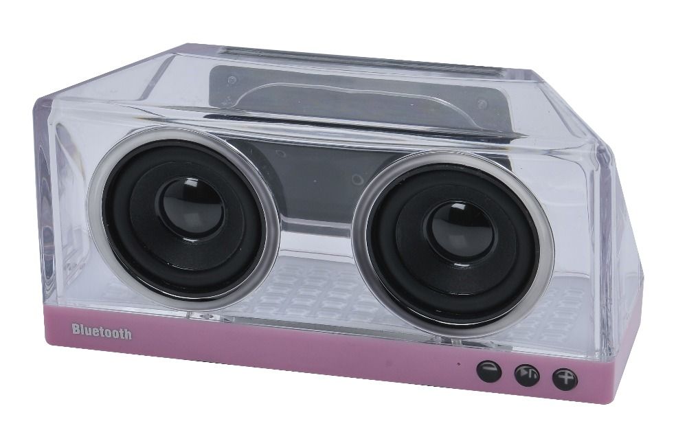 Stereo audio music playing bluetooth wirelss speaker