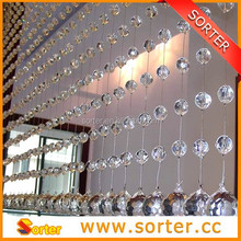 charming glittering and translucent decorative crystal beaded curtains