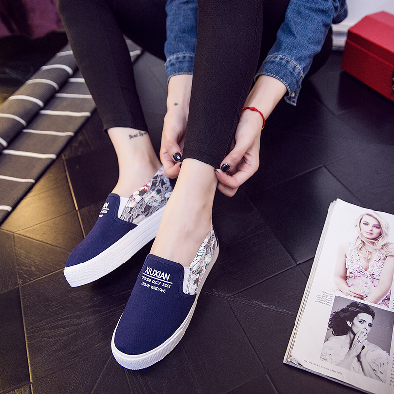 Footwear manufacturer supply loafers custom fashion casual shoes women