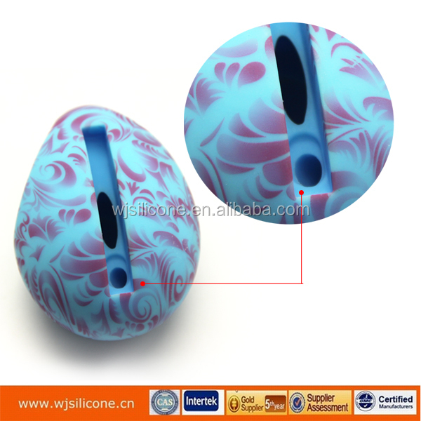 Full Color Printing Customized Wholesale Silicone Egg Speaker For Iphone Vendor
