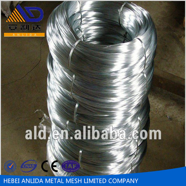Anping Anlida ISO 9001 Certified Factory Galvanized Iron Wire with cheap price for making wire mesh