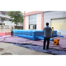 China Most popular low price air bag inflatable big adverture jump stunt game