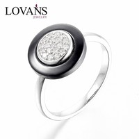 Ceramic Ring Designs Traditional Jewellery Wholesale New Design Rings Silver Jewelry SPA002R